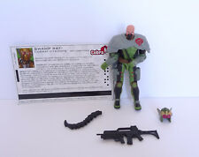 GI JOE COBRA SWAMP RAT figure Version 3 from 2005 mint and new