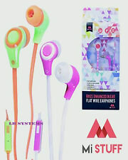 Base migliorato in-ear Auricolari con Microfono per iPhone, Android, MP3, MP4, computer
