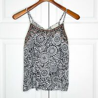 Sweet Wanderer Anthropologie Tribal Tank Top Size Medium