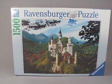 Ravensburger Neuschwanstein Castle 1500 Piece Jigsaw Puzzle New In Box
