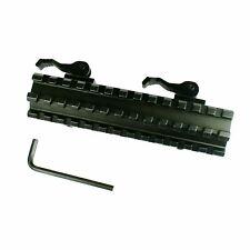 Riser Mount Quick Detach Double Rail 20mm Standard Picatinny Rail for Rifle