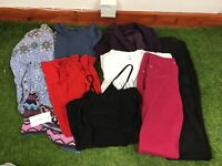 Ladies Size 8 Clothes Bundle Mainly New Look 8 Items W7