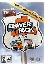 Driver Pack - includes Truck driver big rig and Bus Driver (for PC, 2010) *New*