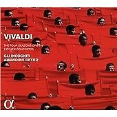VIVALDI: THE FOUR SEASONS, OP. 8/1-4 & OTHER CONCERTOS NEW CD