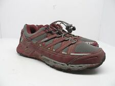KEEN Women's Versatrail Low Hiking Shoes Gargoyle/Zinfandel Size 9.5M