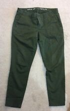 GAP Women's Skinny Khakis, Green, Size 6, Great condition