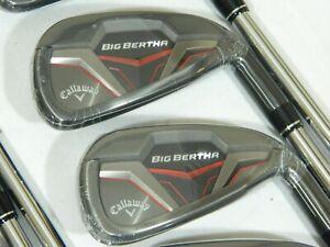 New Callaway Big Bertha 19 Iron Set 5-PW KBS Max Regular Steel irons