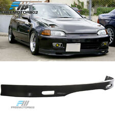 FOR 01-03 HONDA CIVIC 2 4DR FRONT BUMPER LIP SPOILER BODYKIT SPOON STYLE URETHAN