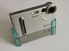 Casio EXILIM EX-S2 2.0MP Digital Camera Silver with docking Station and charger