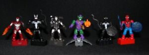 MEGA BLOKS Marvel Series 1 Spider Man Green Goblin War Machine Venom Iron Man