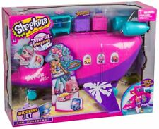 Shopkins Season 8 Plane Playset 3 Tiny Dolls Figures Toy and Accessories Kids