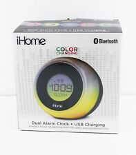 iHome Color Changing Dual Alarm Clock And USB Charging - FREE SHIPPING™