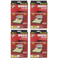 16 PC MOUSE MICE STICKY GLUE TRAPS Rodent Pest Control Tray Board Disposable Lot