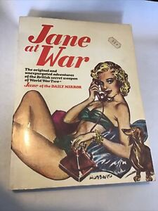 Jane At War - Daily Mirror Comic Strip Wartime Collection 1976 Wolfe SB N Pett