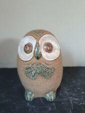 Creative Selection London Pottery Glazed Owl Moneybox