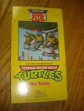 TMNT Teenage Mutant Ninja Turtles VHS tape Burger King Kids Club Sky 1990