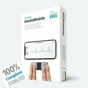 Alivecor KardiaMobile EKG/ECG Heart Monitor|Wireless|FDA-Cleared|FactorySealed