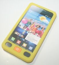Silicone Case For Samsung S2/i9100(Yellow)