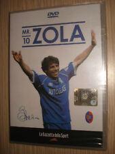 DVD GIANFRANCO ZOLA MR.10 CAGLIARI CHELSEA ITALIA CALCIO