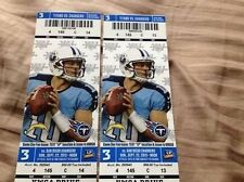 2013 TENNESSEE TITANS VS SAN DIEGO CHARGERS TICKET STUB 9/22/13 CHRIS JOHNSON