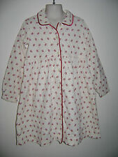 RALPH LAUREN GIRLS DRESS size 6 WHITE RED SNOWFLAKES 100% COTTON BEAUTIFUL