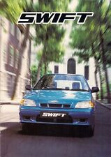 SUZUKI Swift 1999-2001 UK Opuscolo Vendite sul mercato 1.0 1.3 GL GLS GLX