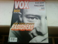 VOX MAGAZINE NME SEPTEMBER 1997 RADIOHEAD OASIS MIKE LEIGH BLACK GRAPE PUBLIC EN