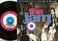 THE JAM THE BITTEREST PILL & THE BUTTERFLY COLLECTOR 45+PS 1997 MOD REVIVAL WHO