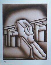 Jacques POLI (1938-2002) Lithographie Originale IV 1978 numérotée Maeght 34ans