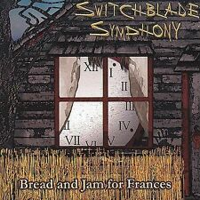 Switchblade Symphony Bread and Jam for Frances CD GOTH Death Rock