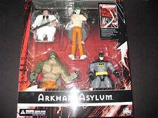 ARKHAM ASYLUM BOX SET 6 inch BATMAN JOKER KILLER CROC PENGUIN FIGURES DC Direct