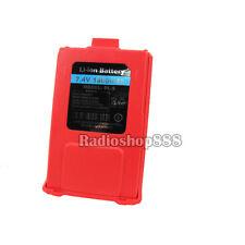 2-055(R)  BAOFENG UV-5R 7.4V 1800MAH RED CLOUR  Original Li-ion Battery