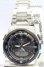 SGW-500HD-1B Black Casio Herrenuhren Twin Sensor Kompass Thermometer Sport Neu