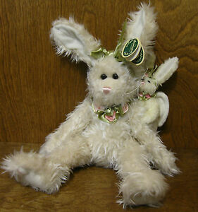 "Bearington Plush #4062 JOY, 11"" Rabbit, NEW from our Retail Store, EASTER"