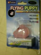 Flying puppy style Air Freshener w/rotating propeller