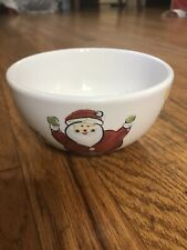Target Home SANTA CLAUS Coupe Bowl Set 4Pc Christmas AA133