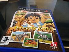 go diego mission safari  sur playstation 2