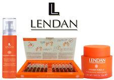 Lendan Vitamine Forza C Total Pack Nourrissant Crème+Hydratant Crème+12 Fioles
