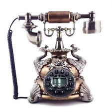 Vintage Antik Retro Anrufer Id Handgerät Schreibtisch Holz Telefon Hand, Gratis
