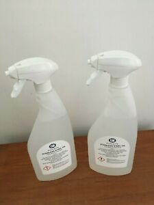 Stainless Steel Oil as used by professional oven cleaners - 2 x 750 ml