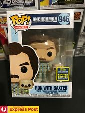 ANCHORMAN RON BURGUNDY WITH BAXTER SDCC SHARED EXCL FUNKO POP VINYL FIGURE #946
