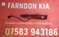 KIA SEDONA 2006-2010 PASSENGER FRONT DOOR HANDLE IN RED