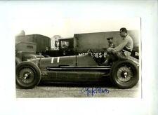 Luigi Villoresi Maserati 6CM Donington Grand Prix 1938 Signed Photograph