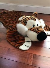 "The Manhattan Toy Company 50"" Tiger Floor Rug 1997 (116)"