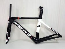 Argon18 Nitrogen Carbon Road Frameset Gloss-Black White Size S