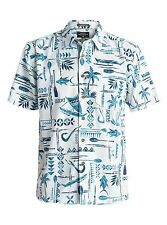 Quiksilver Men's Aberdeen Short Sleeve Shirt AQMWT03255 Color BZLO X-Large
