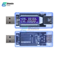 USB Charger Current Voltage Doctor Capacity LCD Detector Meter Battery Tester