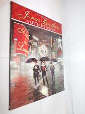 Jonas Brothers un po'più tempo Spartiti Musicali LIBRO PER PIANOFORTE VOCAL GUITAR PB