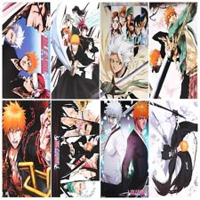 """8pcs Japanese Anime Bleach Printed Poster 17""""x11"""" Picture May Vary"""