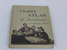 Grant's Atlas of Anatomy J.C. Boileau Grant 1962 5TH Edition Hardcover Book